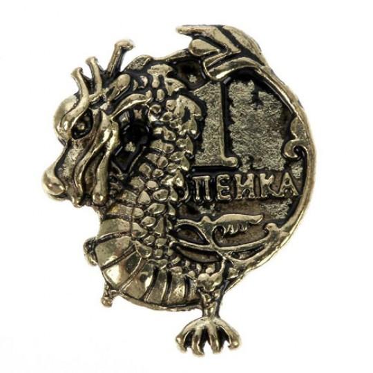Кошельковый талисман Дракон процветания и изобилия
