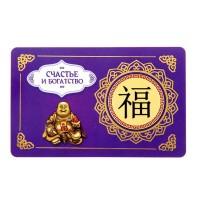 Кошельковая карточка Счастье и Богатство