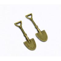 Кошельковая лопата с рунами