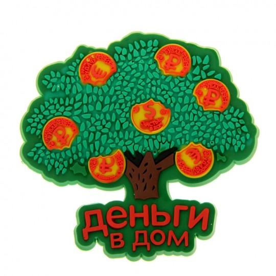 Магнит Денежное дерево Деньги в дом