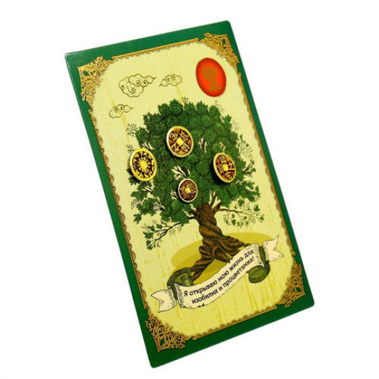 Фэн-шуй панно Денежное дерево изобилия