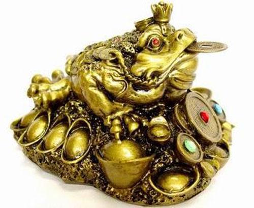 Денежная жаба по фен-шуй