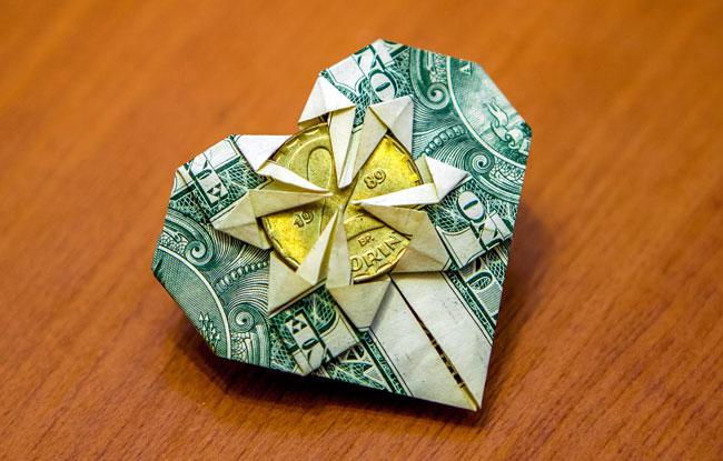 Как сделать оригами кошелек видео фото 82